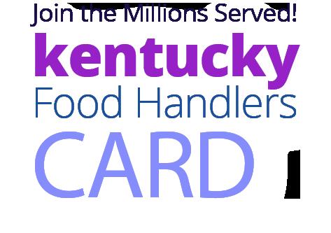KENTUCKY Food Handlers Card